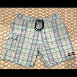 Vineyard Vines Men's plaid Board Shorts Size 32
